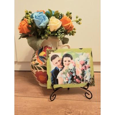 Set aranjament floral cu...