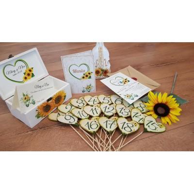 Invitatii nunta - floarea...