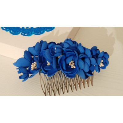 Floare de par, handmade,...