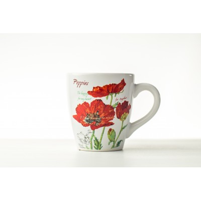 Cana ceramica Red Poppy 500...