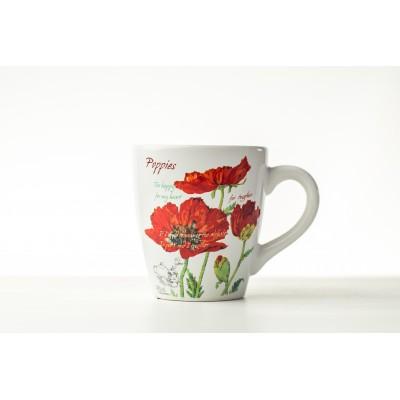 Cana ceramica Red Poppy 500...